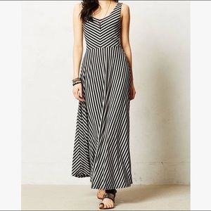 Anthropologie Puella Striped Maxi Summer Dress